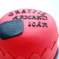 Tårta: Albanska flaggan