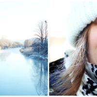 Riktigt krispig vinterdag...